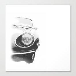 Sketchy Sports Car Canvas Print