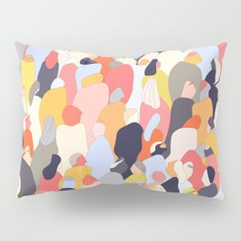 Crowded Pillow Sham