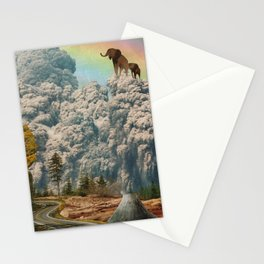 fiction of fantasy Stationery Cards