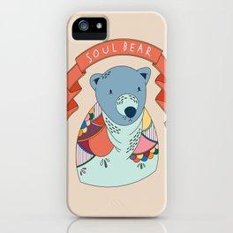 Soul Bear iPhone Case