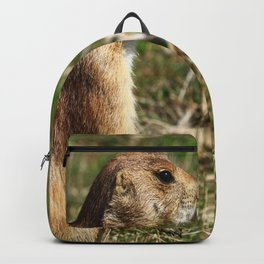 Black-tailed Prairie Dog Pose Backpack