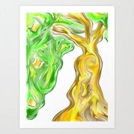 Arbol 008 Art Print