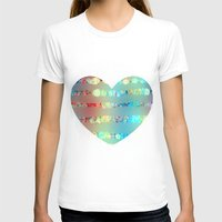 sparkle T-shirts featuring Sparkle emotions by SensualPatterns