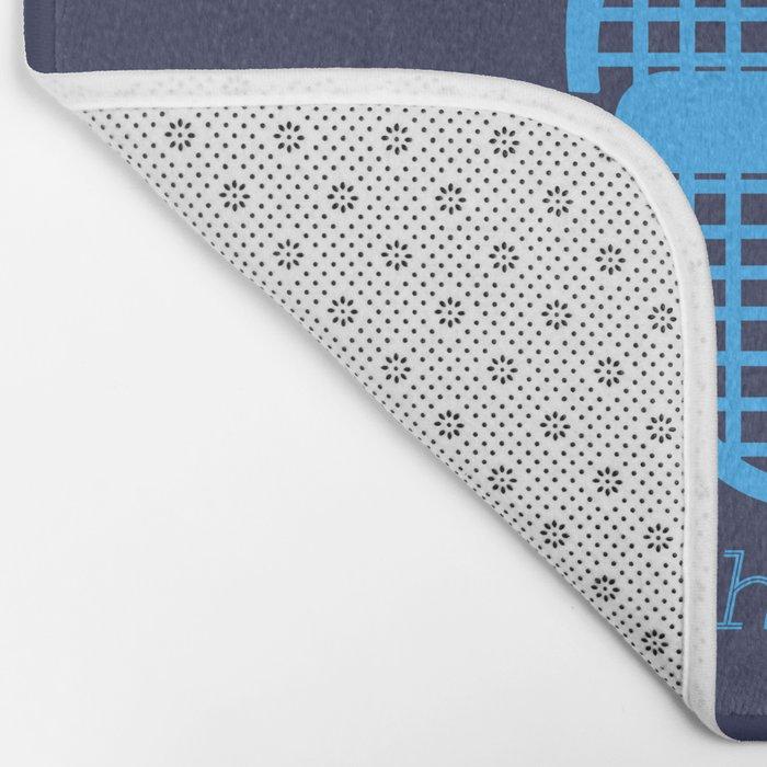 Hybrid Designer Bath Mat