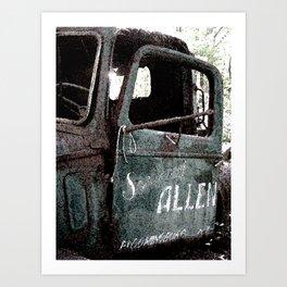 """Allen"" Art Print"