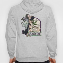 Black Rose Absinthe by Bobbie Berendson W Hoody