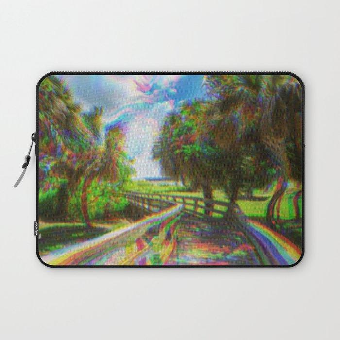 Trippy Walkway Laptop Sleeve