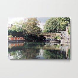 Regent's Canal Metal Print