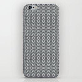 Geometric Flower Pattern 1 iPhone Skin