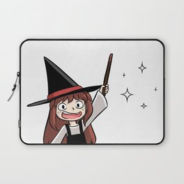 Cute witch girl Laptop Sleeve
