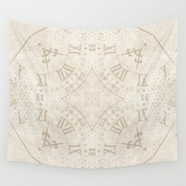 Abstract Roman Numeral SB74 Wall Tapestry