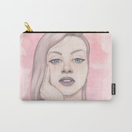Puple those lips Carry-All Pouch