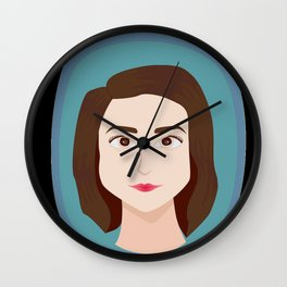Portrait of a Friend Wall Clock