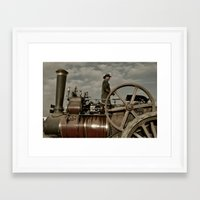 grease Framed Art Prints featuring Steam & Grease  by Rob Hawkins Photography