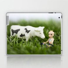 Baldy & Cow Laptop & iPad Skin