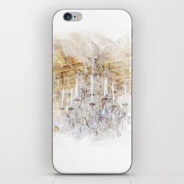 Palace Chandelier Gold iPhone Skin