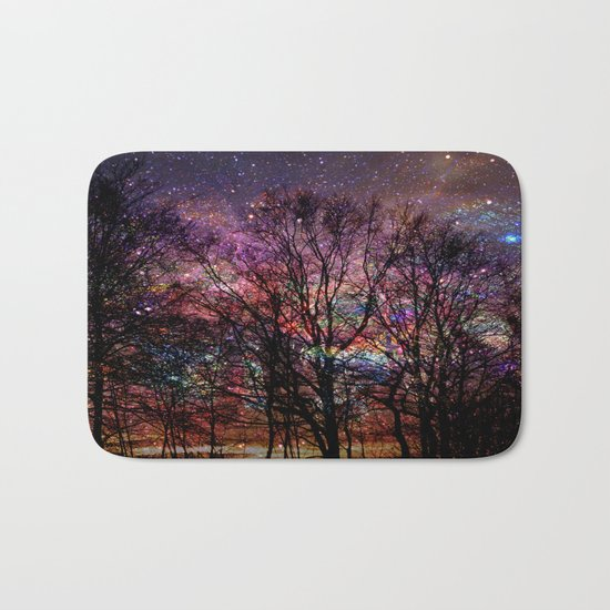 Life in the forest Bath Mat