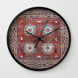 Khotan East Turkestan Sitting Mat Wall Clock