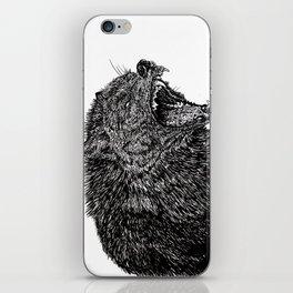 Black Wolf iPhone Skin