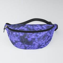 Blue Queen Anne's Lace (Up Close) Fanny Pack