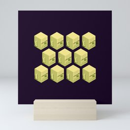 Sha Wujing Clones Mini Art Print