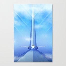Destination: Dreamland Canvas Print