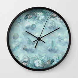 Sea shells Composition  1 Wall Clock