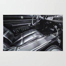 Vintage car Rug