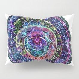 Abstract Cosmic Geode Pillow Sham