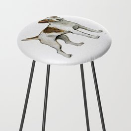 Jack Russell Terrier Counter Stool
