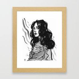 bummer babe Framed Art Print