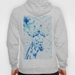 Blue Giraffe Hoody