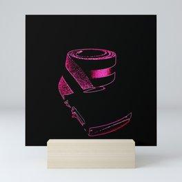 Pink retrO Belt Mini Art Print