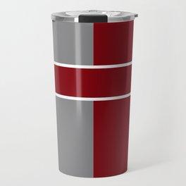 Team Color 6....gray,maroon Travel Mug