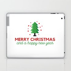 Merry Christmas and a happy new year Laptop & iPad Skin