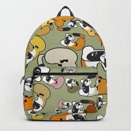 Black Footed Ferret pattern Backpack
