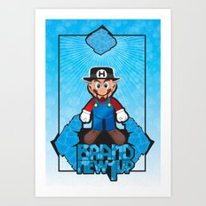 Mario Heisenberg Art Print