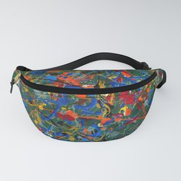 Abstract #17 Fanny Pack