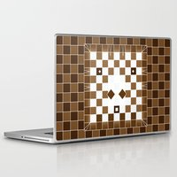 donkey Laptop & iPad Skins featuring  Pixel Donkey by HK Chik