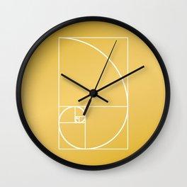 That's Golden II Wall Clock