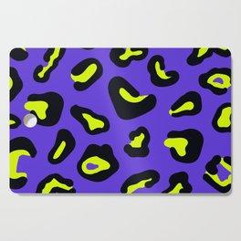 Blue leopard Cutting Board