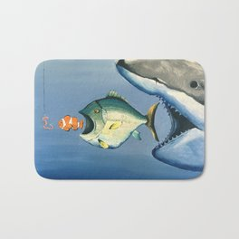 Fish Bait Bath Mat