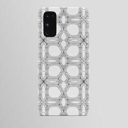 Poplar wood fibre walls electron microscopy pattern Android Case