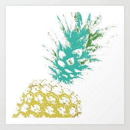 Pinnaple delight Art Print