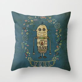 I Can Feel! Throw Pillow