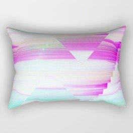 Future aesthetic Rectangular Pillow
