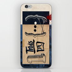 one and three quarters of things iPhone & iPod Skin
