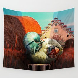 Snails escape Wall Tapestry