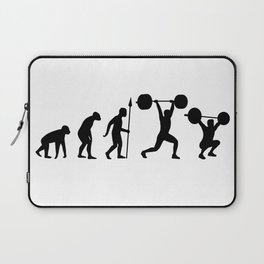 Olympic Weightlifting Evolution Laptop Sleeve
