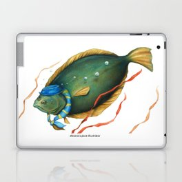 Halibut, the hostess Laptop & iPad Skin